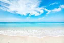 landscape of the beautiful sea