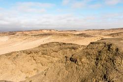 Landscape of the Namib desert, Africa