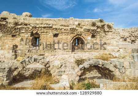Landscape of the old town of Aleppo, Syria
