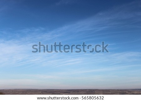 Landscape of the sky #565805632