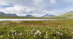 Landscape on Reykjanes in Arneshreppur. The Westfjords (Vestfirdir) in Iceland.
