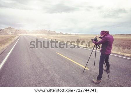 landscape photographer takes...
