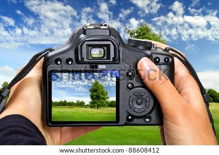 Landscape photography by DSLR camera