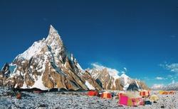 landscape photos of Karakorum range northern areas of gilgt baltistan , pakistan