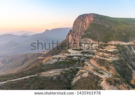 Landscape picture of Leba mountain in Lubango Province in Angola - Africa
