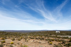 Landscape Sutherland - The view from The Sutherland Observatory SALT, South Africa