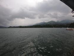 Landscape view of Banasura Sagar Dam, Wayanad, Kerala