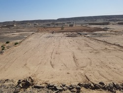 Landscape View of Sandy and Deserted Area