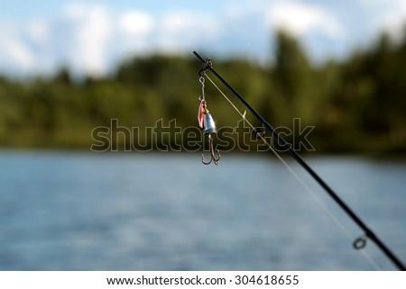 landscape water fishing people #304618655