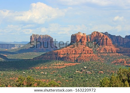 Landscape with Cathedral Rock