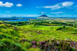 Landscape with Cost at Connemara in Ireland