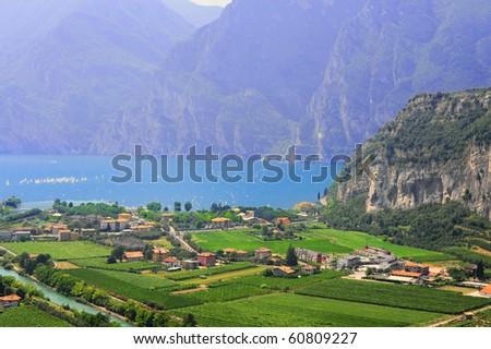 Landscape With The Lake Lago Di Garda, Italy