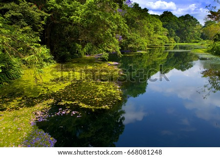 Landscape with water #668081248