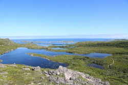 Landscapes and seaviews from Saint Pierre And Miquelon during summertimes