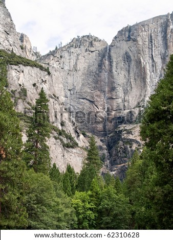 Landscapes from Yosemite National Park in California, USA