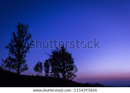 landscapes golden hour and blue hour #1154293666