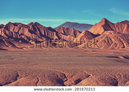 stock photo landscapes of northern argentina 281870213 - Каталог — Фотообои «Природа, пейзаж»