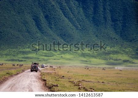 Landscapes of the Ngorongoro crater, Ngorongoro national park