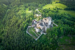 Landstejn Castle is a 13th-century castle district of South Bohemia, Czech Republic. The earliest written record of the castle is from 1231.It is one of the oldest structures in Europe.