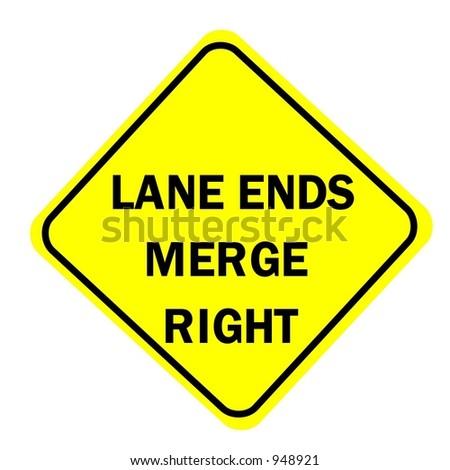 Lane ends merge left  YouTube