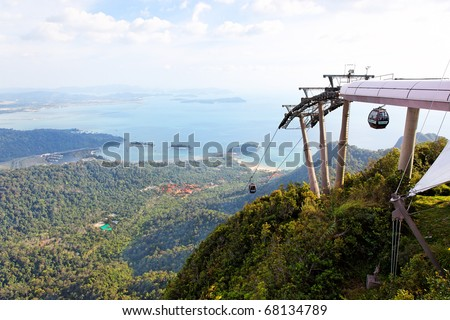 Langkawi hills cable car (Langkawi Geopark), Malaysia