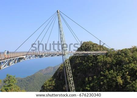 Langkawi's Bridge, Malaysia #676230340