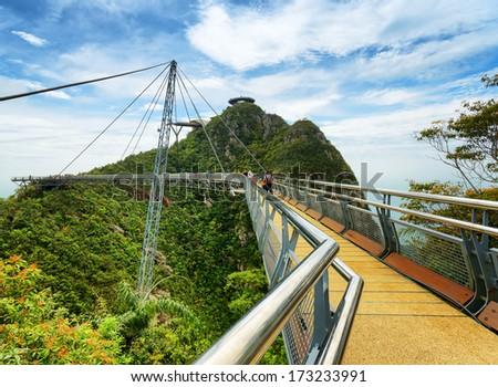 Langkawi Sky Bridge in Malaysia. #173233991