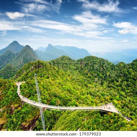Langkawi Sky Bridge in Malaysia. #179379023