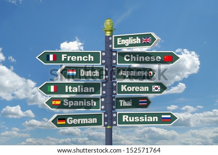 English Russian German 52