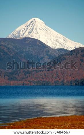 Lanin Volcano Patagonia