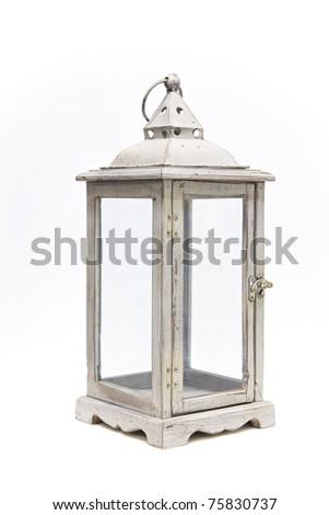 lantern isolated on white background