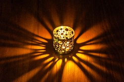 Lantern with light , Lantern