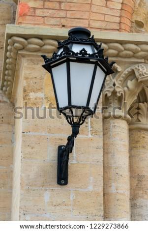 lanterns to illuminate buildings #1229273866