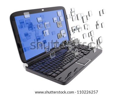 Laptop and digital files