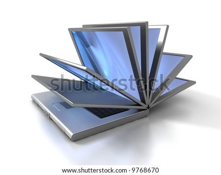 Laptop book