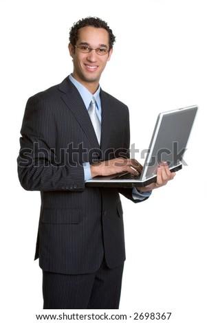Laptop Business Man