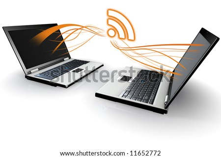 Laptop Computers communicating with RSS