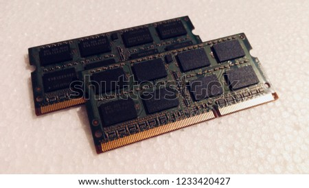 Laptop memory DDR SO DIMM