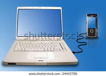 laptop mobile connection