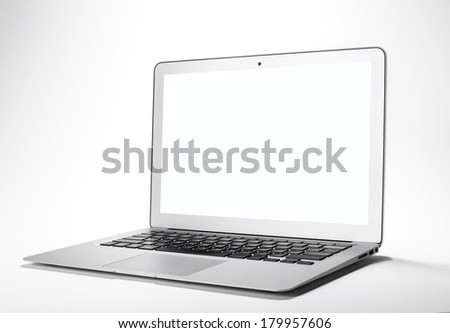 laptop on white background  #179957606