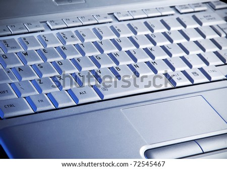 Laptop's keyboard