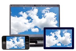 Laptop, Smartphone and Tablet PC
