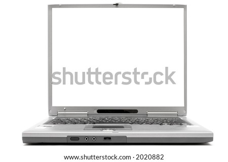 Laptop w/ Empty Space