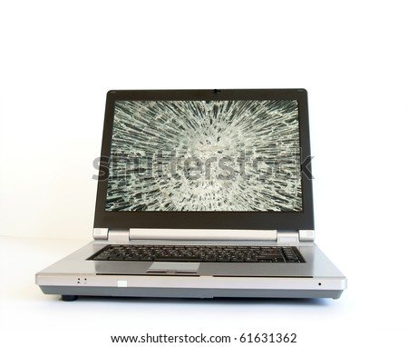 Broken Computer Monitor Screensaver. +monitor+screensaver