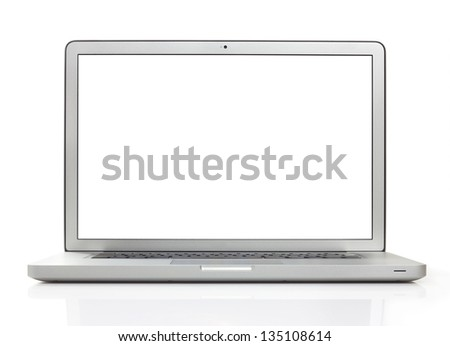 Laptop with 2 clipping paths #135108614