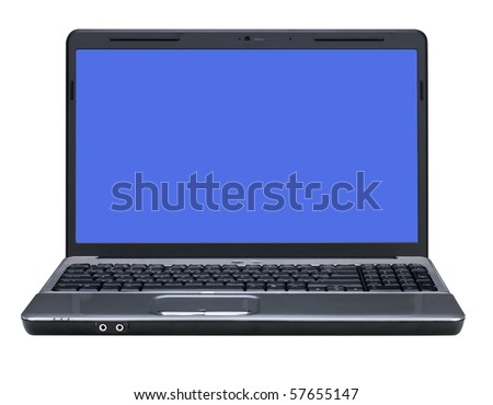 Laptop with Path around Screen