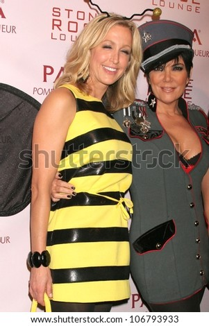 Lara Spencer and Kris Jenner  at PAMA's Halloween Masquerade, Stone Rose, Los Angeles, CA. 10-30-08