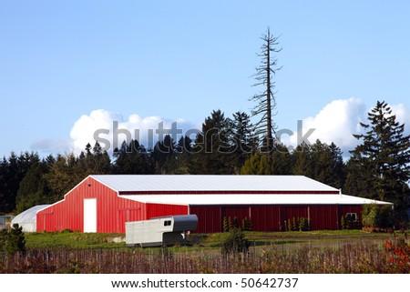 Large barn.