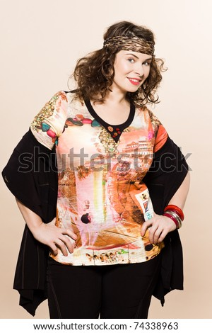 ... models clothes clothings on studio isolated plain background - stock