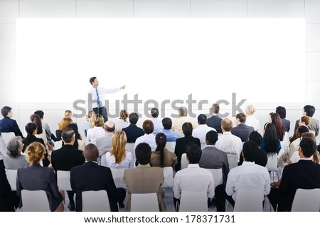Large Business Seminar With White Board